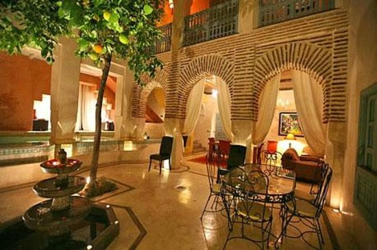 Riad Misria & SPA : Patio