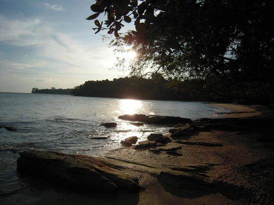 Koh Thmei Resort: Abendstimmung