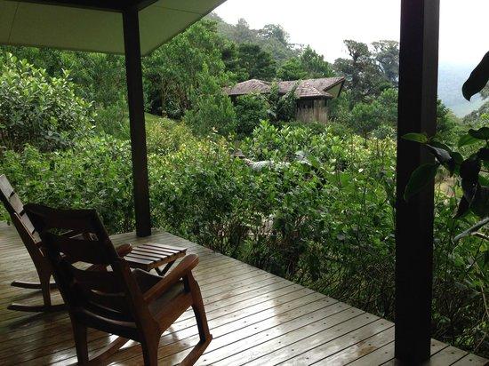 El Silencio Lodge & Spa: View from room 4
