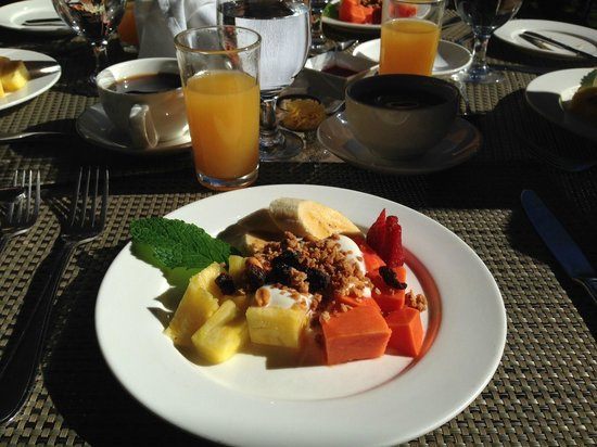 El Silencio Lodge & Spa: Starter for breakfast!