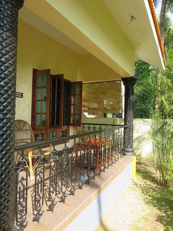 Varkala Villas: Our cottage from outside
