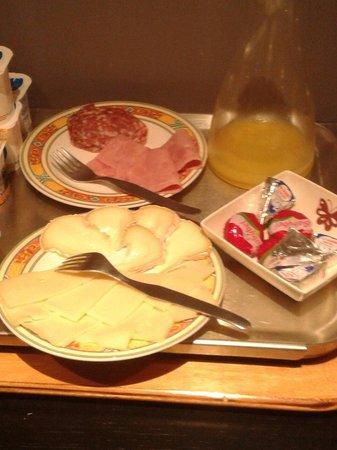 Hotel du Palais: Une partie du buffet du petit dejeuner