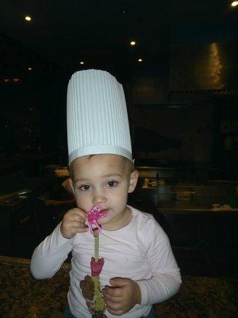 Tropitel Sahl Hasheesh : chef