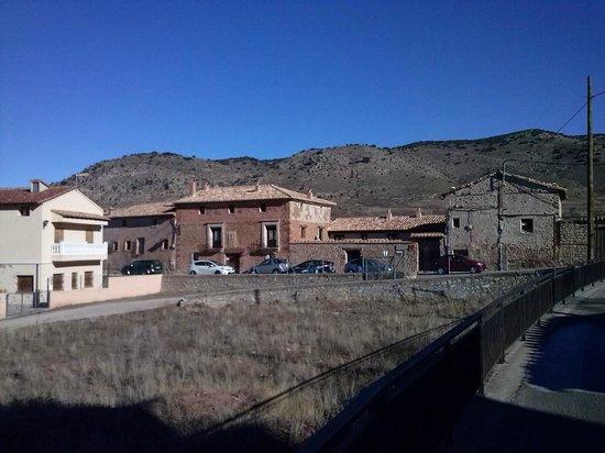 La Casa Grande De Albarracin: Fachada del hotel