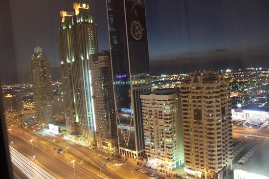 Emirates Grand Hotel: View from my room