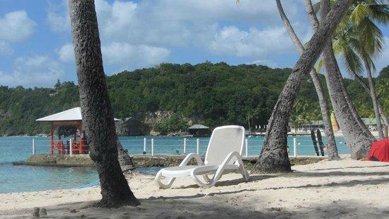 Club Med La Caravelle: sur la plage