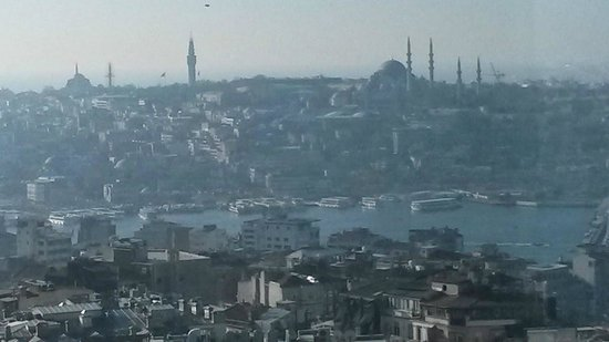 The Marmara Pera Hotel view