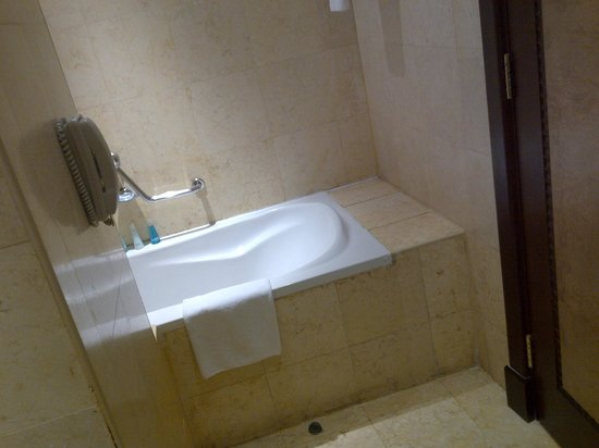 Wyndham Grand Regency Doha: Bathtub
