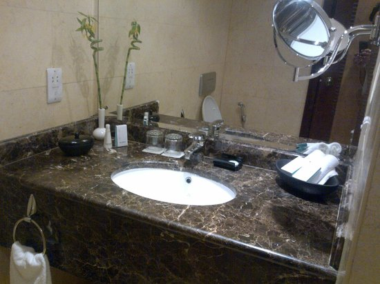 Wyndham Grand Regency Doha: Washbasin