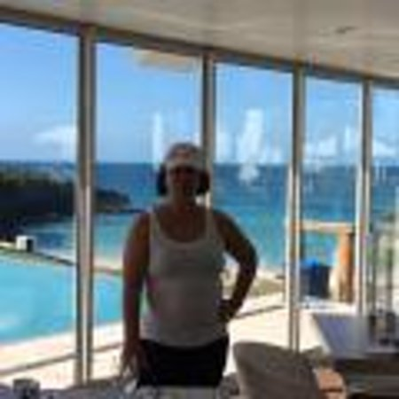 The Cove Eleuthera: My WIfe View from Bar and Restaurant