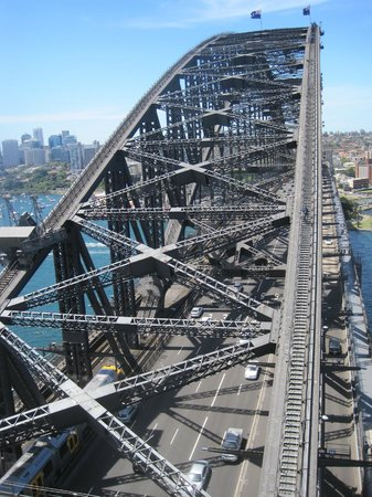 Pylon Lookout at Sydney Harbour Bridge: View from the top