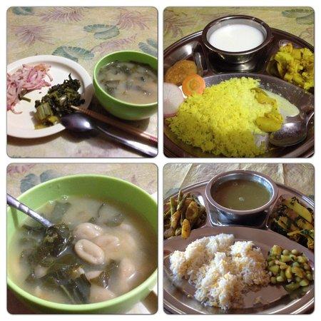 Sadhana Bhumi Himalaya For Life Research : 夕食(dinner)1