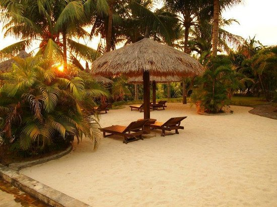 Medana Resort Lombok : Relax area
