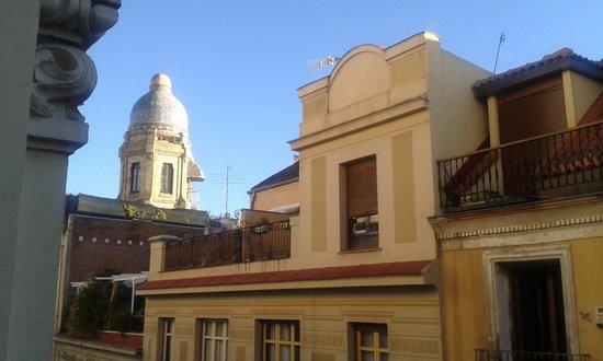 Hostal La Plata: vista habitación doble