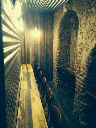 Grosvenor Fish Bar: More underground seating