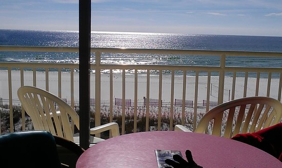 BEST WESTERN Ft. Walton Beachfront: view from our window