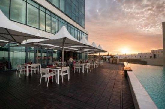 Radisson Blu Hotel, Port Elizabeth : Hotel deck area