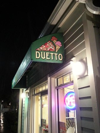 Duetto Pizza and Gelato: we're here