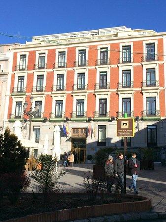 Intur Palacio San Martin : Ottima sistemazione per una visita lampo a MADRID
