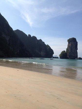Centara Grand Beach Resort & Villas Krabi: veiw from the beach