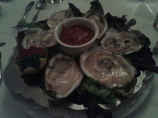 Le Chambord Restaurant: Oysters