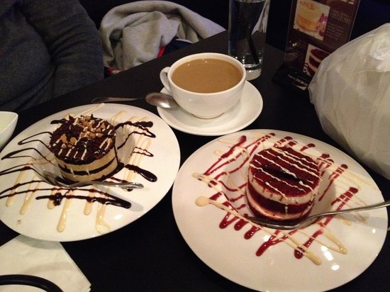 Lemongrass Viet-Thai Restaurant: 2 decadent desserts...and a vietnamese coffee