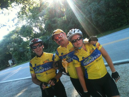 Key Largo Bicycle and Adventure Tours: Richard, Julian & Marie