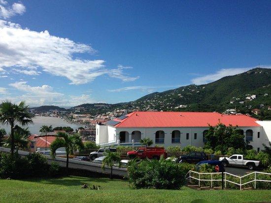 Bluebeard's Castle Resort : View from Villas I Rom 156