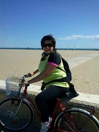 Ecoruter: en la playa Malvarrosa