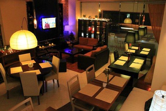 Hotel Halkidona: Restaurant