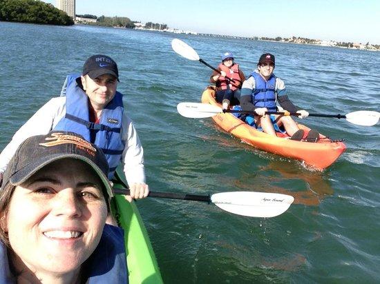 Sea Life Kayak Adventures: Family kayak adventure with SLKA