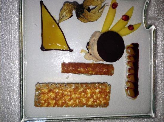 Restaurant des Trois Tours : Schokoladen-Trio
