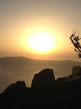 Honeymoon Petra Villas : wunderschöne Sonnenuntergänge