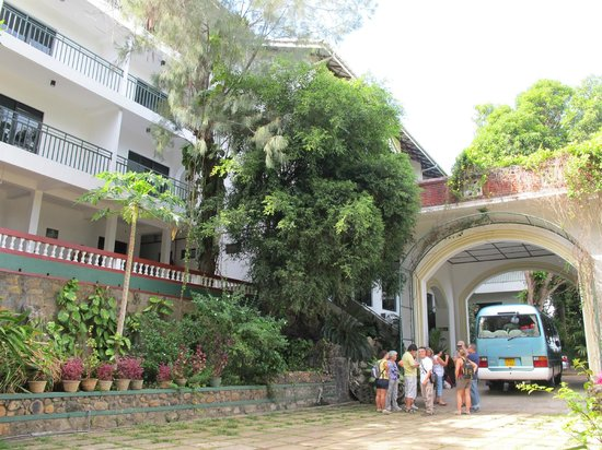 Centauria Lake Resort: Main entrance