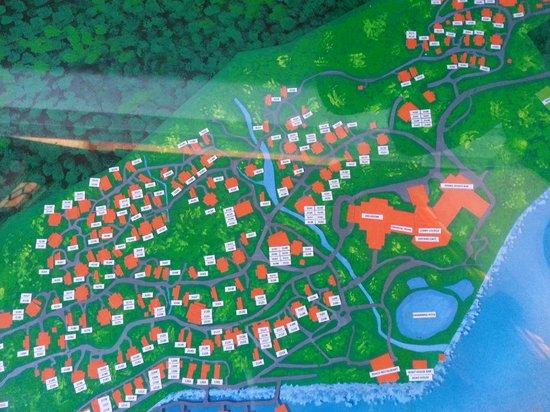 Berjaya Langkawi Resort - Malaysia: Site Plan with room numbers Pic 2 of 4