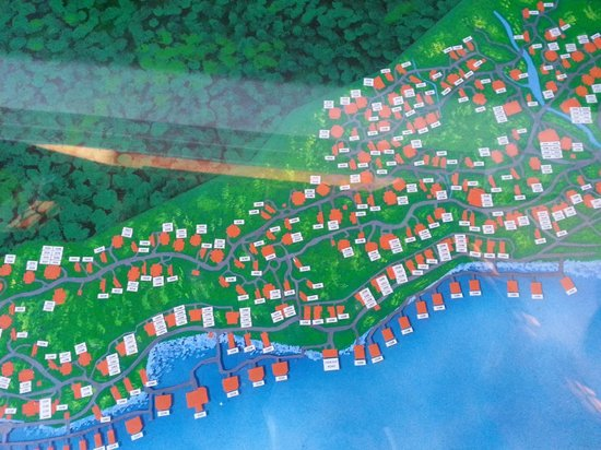 Berjaya Langkawi Resort - Malaysia: Site Plan with room numbers Pic 1 of 4