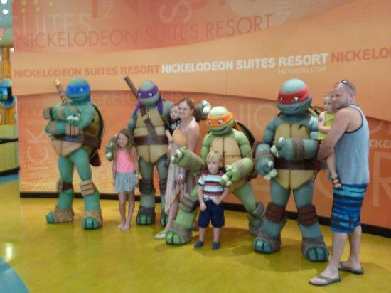 Nickelodeon Suites Resort: Teenage Ninja Turtles