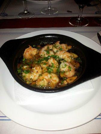 Restaurante La Chalana : Garlicky, prawny goodness...