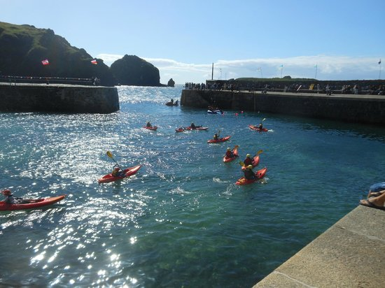 Lizard Adventure - Day Tours: Mullion Harbour Day 2013