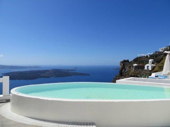 Aqua Luxury Suites: unser eigener Pool