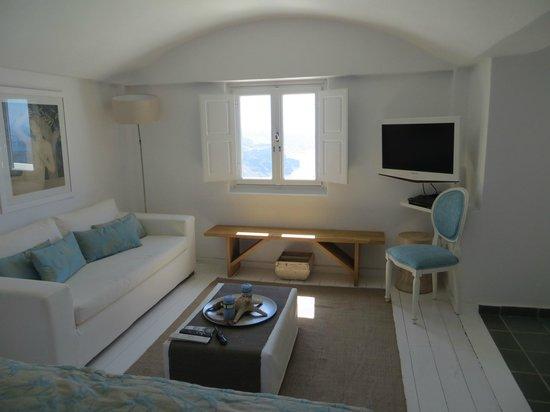 Aqua Luxury Suites: Schlafzimmer oben