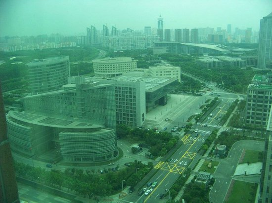 Crowne Plaza Century Park Shanghai : View from room