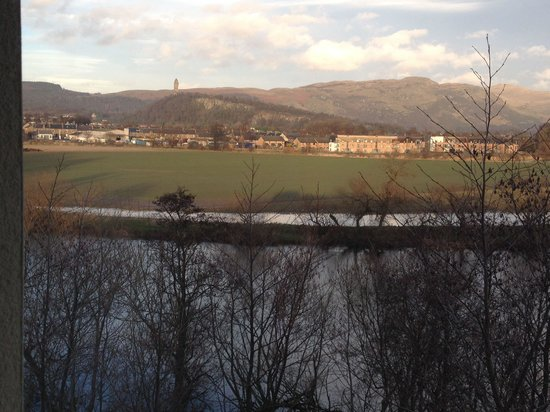 Premier Inn Stirling City Centre Hotel: Views of The Wallace Monument
