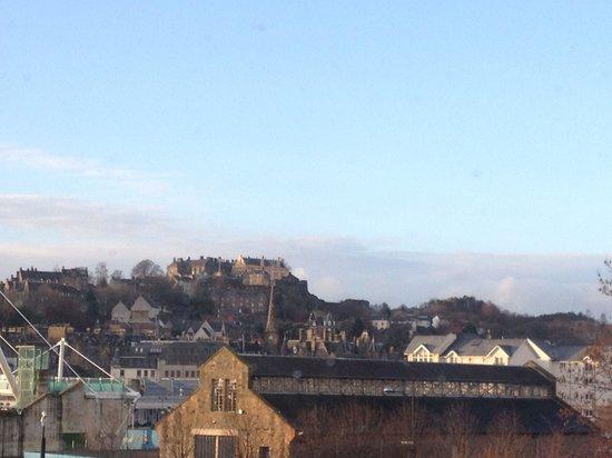 Premier Inn Stirling City Centre Hotel: Views of Stirling Castle