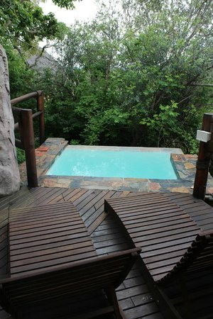 Ulusaba Rock Lodge: Master suite - Dipping pool