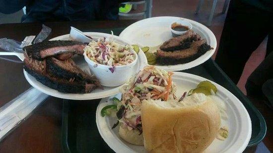 Pecan Lodge: Best meal in TX.