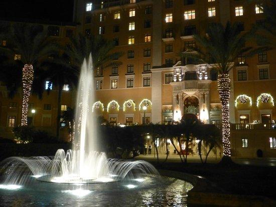 The Biltmore Hotel Miami Coral Gables: de nuit
