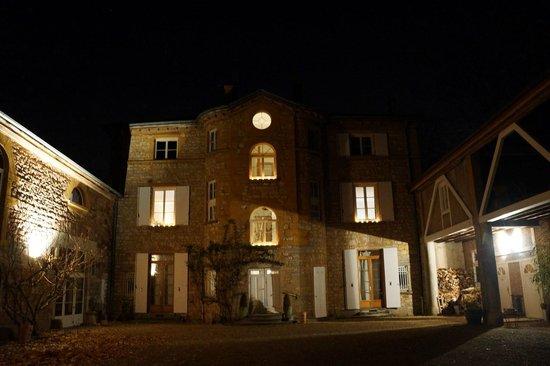 Manoir Tourieux: le manoir de nuit