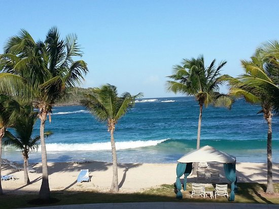 The Westin Dawn Beach Resort & Spa, St. Maarten: View from my room