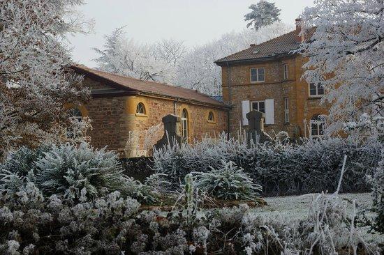 Manoir Tourieux: l'hiver au manoir
